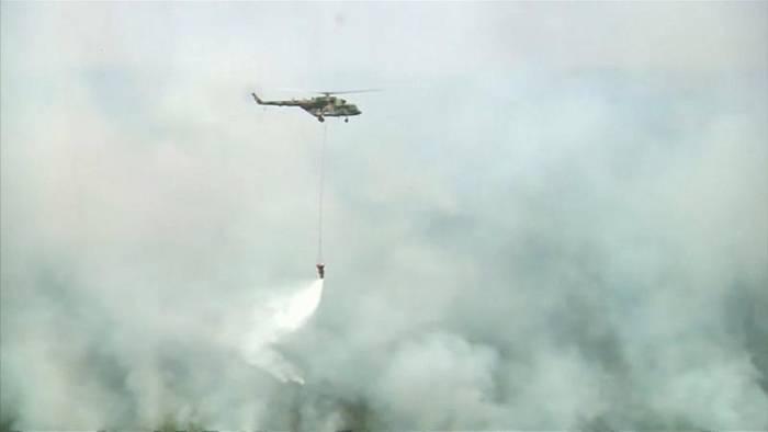 Video: Waldbrände in Sibirien: Erste Erfolge