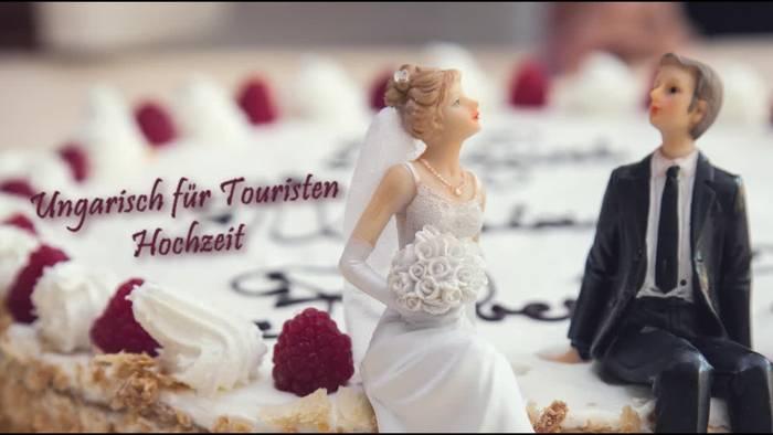 News video: Ungarisch für Touristen: Begriffe rund um die Hochzeit