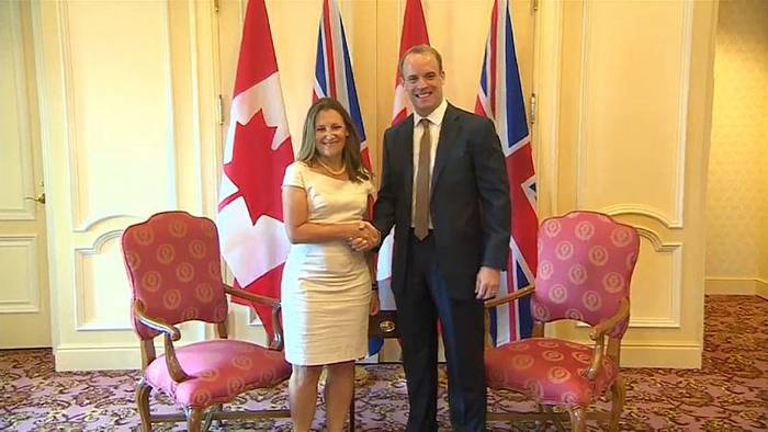 Video: Briten wollen engere Zusammenarbeit mit Kanada