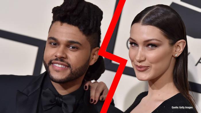 Video: Bella Hadid & The Weeknd: Das Paar hat sich getrennt