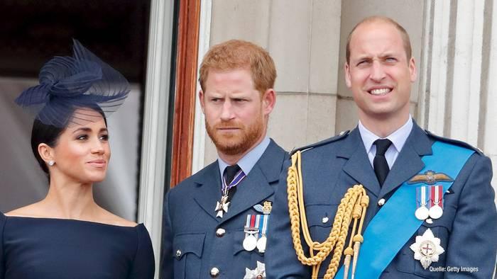 Video: Prinz William und Prinz Harry: Zerstritten nur wegen Meghan?