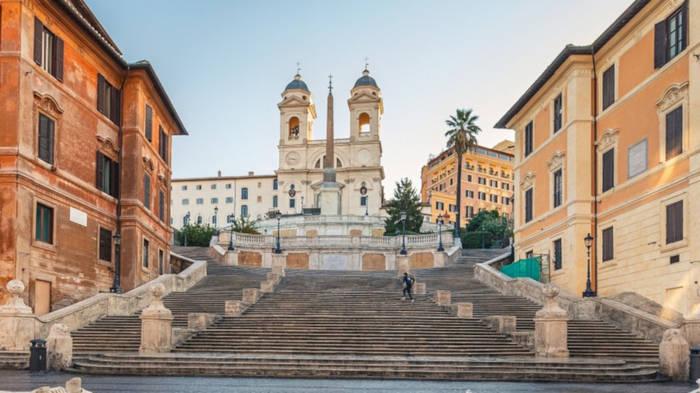 Video: Rom führt Sitzverbot auf der Spanischen Treppe ein