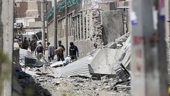 News video: Tote und Verletzte bei Anschlag in Kabul