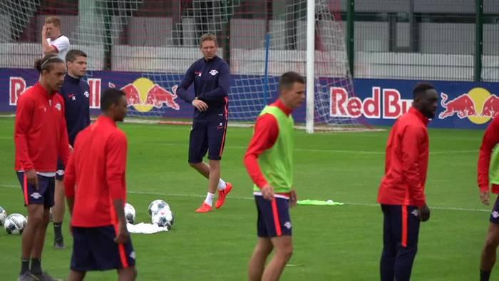 News video: RB Leipzig: Viele Ausfälle vor DFB-Pokalspiel in Osnabrück