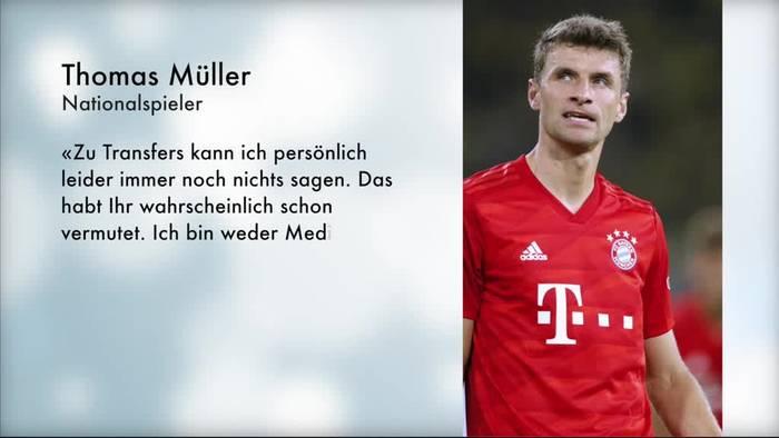 News video: Müller über Sané-Spekulation: Wem soll man glauben?