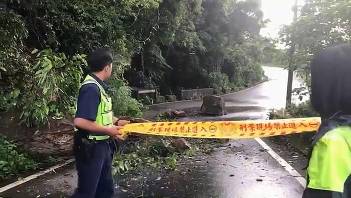 News video: Erdbeben der Stärke 6,0 in Taiwan