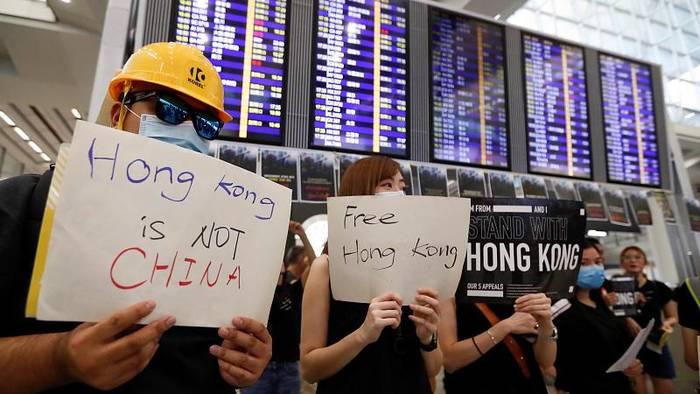 Video: Hongkong: Wochenende beginnt erneut mit Protesten