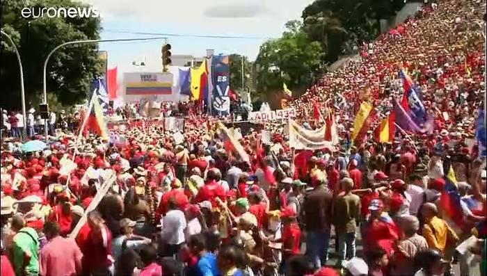 Video: Sanktionen gegen Venezuela: Maduro schäumt