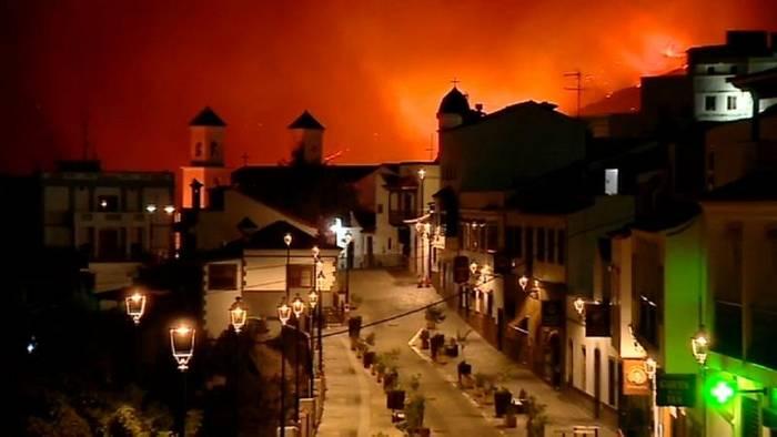 Video: Schwerer Waldbrand auf Gran Canaria