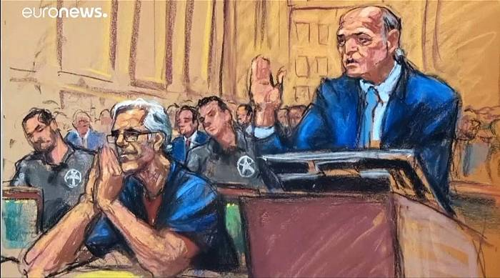 Video: Nach Tod Jeffrey Epsteins: Gefängnispersonal in der Kritik