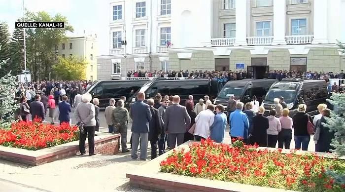 News video: 5 Opfer des mysteriösen Raketentests beigesetzt