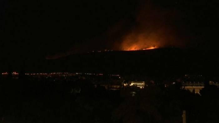 News video: 57 Waldbrände seit Samstag - Feuer bei Athen gelöscht
