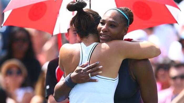 News video: Frauentennis beweist Solidarität im Sport