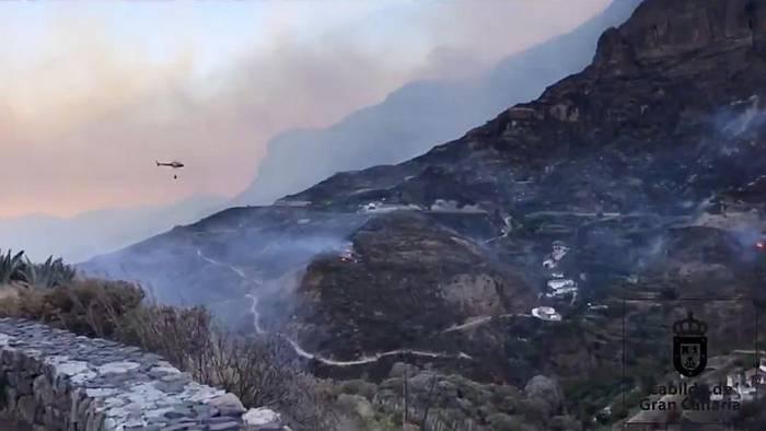 Video: Brände auf Gran Canaria unter Kontrolle, aber Angst vor neuen Flammen