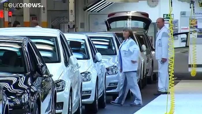 Video: Ein bisschen Rezession in Deutschland