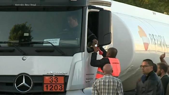 News video: 3. Streiktag von Gefahrgutfahrern: Fronten sind verhärtet
