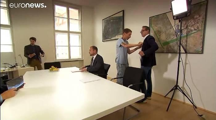 News video: H.C. Strache spricht von