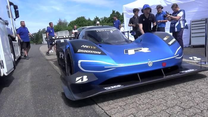 News video: VW ID.R – Rekord auf dem Nürburgring