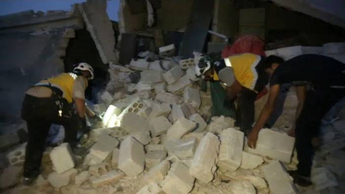 Video: Idlib: Mindestens 6 Kinder bei Luftangriffen getötet