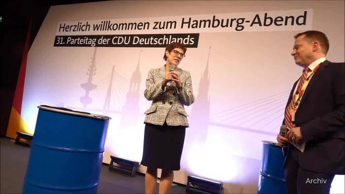 News video: Kramp-Karrenbauer bringt CDU-Ausschluss von Maaßen ins Spiel