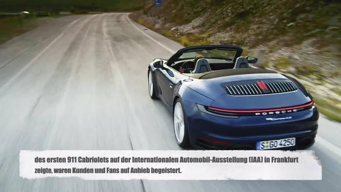 News video: Das neue Porsche 911 Cabriolet