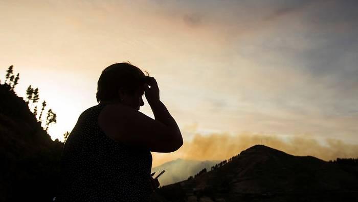 Video: Neuer Waldbrand wütet auf Gran Canaria - 400 Hektar verbrannt