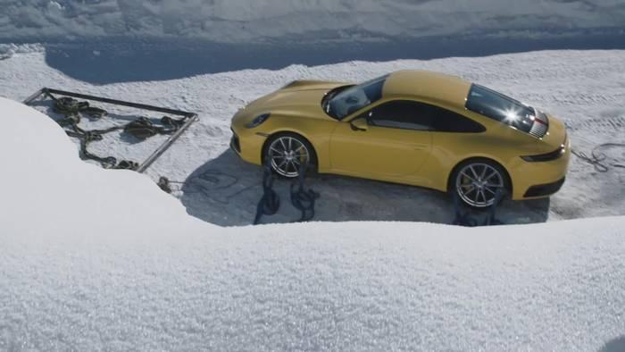 Video: Großer Auftritt für den neuen Porsche Elfer in den Alpen