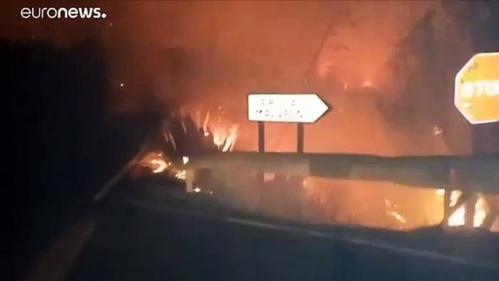 Video: Verheerender Waldbrand auf Gran Canaria