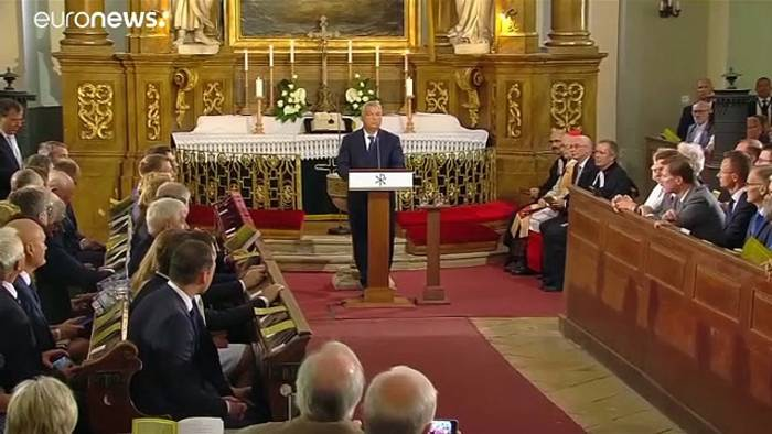 News video: Orban will Verhältnis zu Deutschland verbesssern