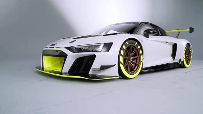 News video: Der neue Audi R8 LMS GT2