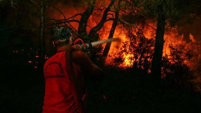 Video: Bewohner fordern mehr Hilfe im Kampf gegen Feuer bei Izmir