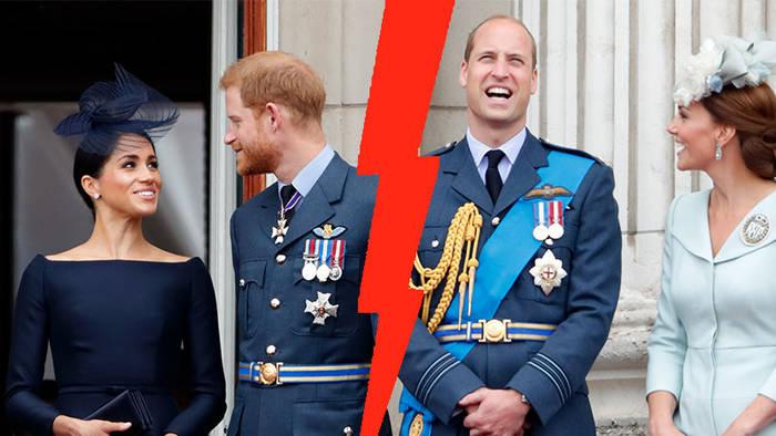 Video: Kate und William: Das ist der Grund für ihren Streit mit Harry und Meghan