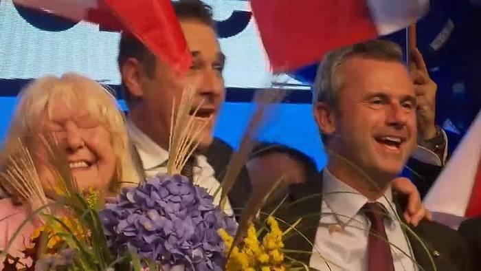 News video: FPÖ-Chef Hofer im Strache-Spagat