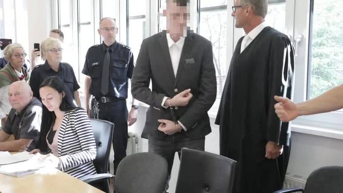 News video: Nach Mord an schwangerer Frau auf Usedom - Täter vor Gericht
