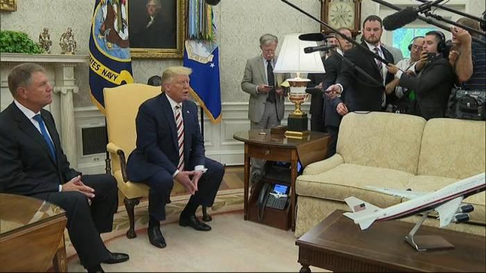 Video: US-Präsident Trump bestätigt Gespräche mit Venezuelas Regierung