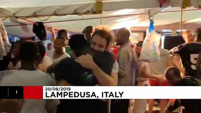 News video: Rettungsschiff