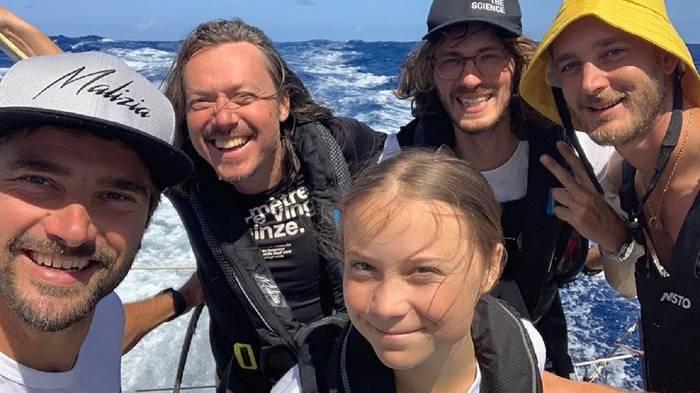 Video: Es ist Halbzeit: Greta Thunberg segelt weiter nach New York