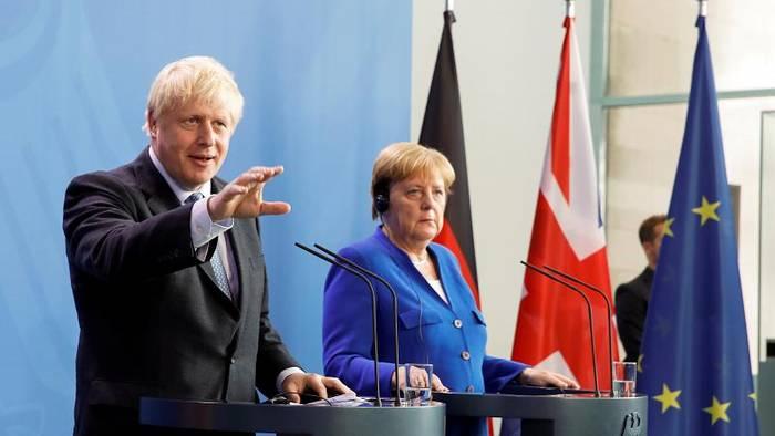 News video: Boris Johnson beharrt in Berlin auf seinen Forderungen