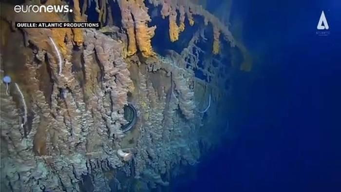 Video: Neue Bilder von der Titanic: Bakterieller Eisenfraß zerstört das Wrack