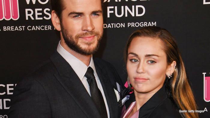 News video: Scheidung! Ehe von Miley und Liam vor dem Aus