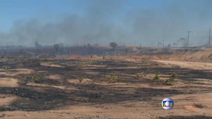 Video: Brasiliens Bolsonaro: Umweltschützer legen Feuer im Amazonas