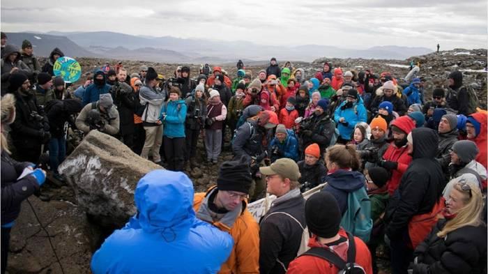 News video: Gedenkfeier: Island erklärt ersten Gletscher für