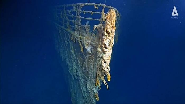 News video: Neue Bilder von der Titanic: Bakterieller Eisenfraß zerstört das Wrack