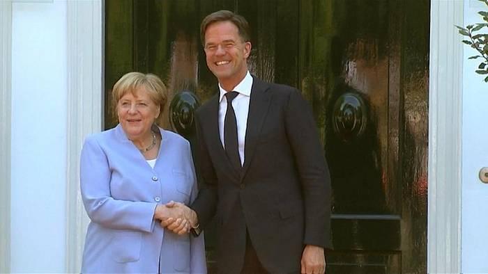 News video: Bundeskanzlerin Angela Merkel für viel schärferes EU-Klimaziel bis 2030