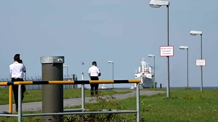 News video: Polizei und Bundeswehr üben Terrorlage auf der Nordsee