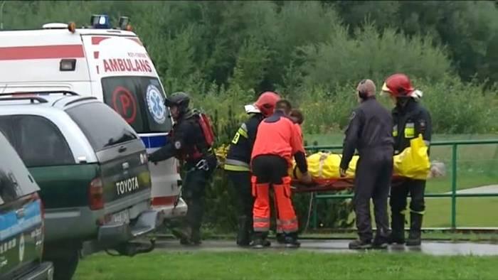 News video: Blitzschlag im Tatra-Gebirge: 5 Tote und 100 Verletzte