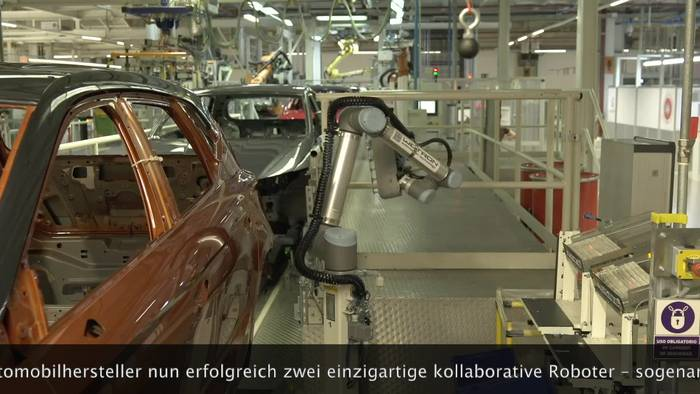 Video: Industrie 4.0 - SEAT setzt auf CoBots
