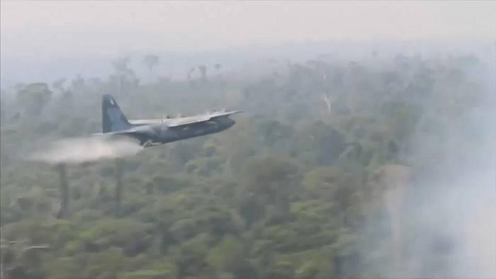 News video: Brasilien: Armee gegen Amazonas-Waldbrände