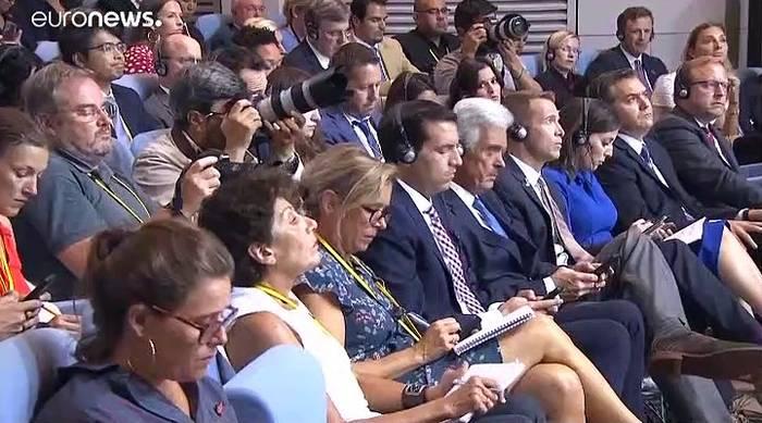 News video: G7 machen Hoffnung auf Trump-Ruhani-Treffen: