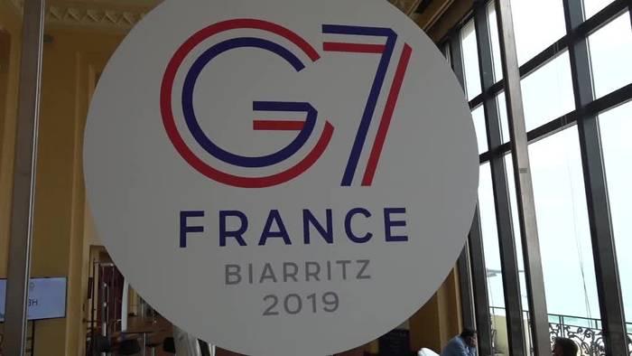 News video: G7-Gipfel endet mit Treffen zwischen Merkel und Trump